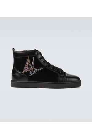 Christian Louboutin High-Top-Sneakers Lou Oui