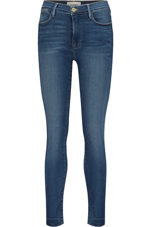 Frame Cropped Skinny Jeans Le High