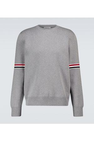Thom Browne Pullover Milano Stitch aus Baumwolle
