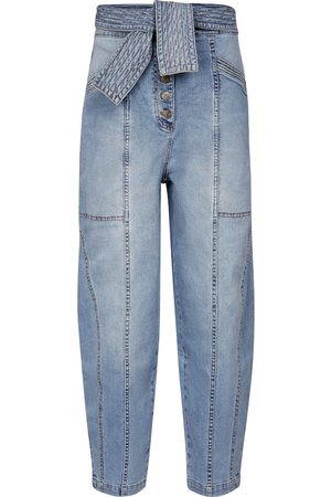 ULLA JOHNSON High-Rise Straight Jeans Otto