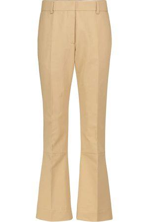 Marni Hose aus Baumwolle und Leinen