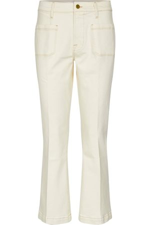 Frame High-Rise Flared Jeans Le Bardot
