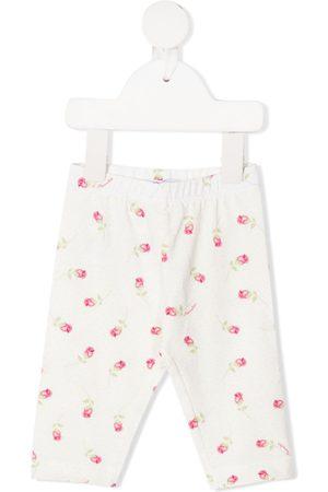 MONNALISA Flower print trousers