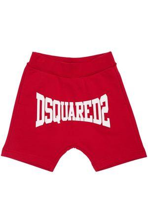 Dsquared2 Trainingsshorts Aus Baumwolle Mit Logodruck