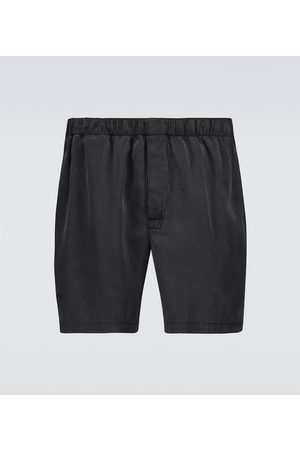 Bottega Veneta Shorts aus Seidentwill