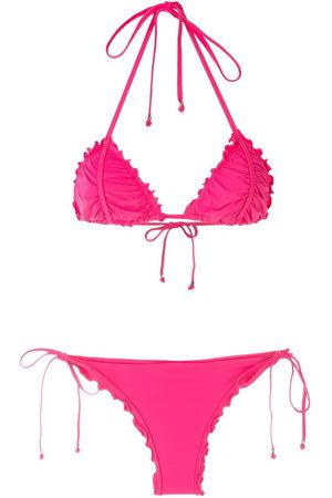 AMIR SLAMA Damen Bikinis - Ripple effect bikini set
