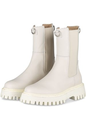 Bronx Chelsea-Boots Groov-Y weiss