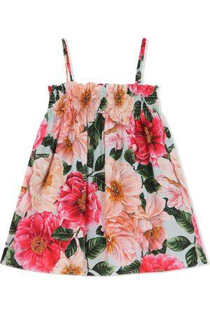 Dolce & Gabbana Floral-print sleeveless dress