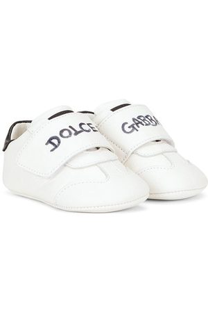 Dolce & Gabbana Sneakers - Logo-print touch-strap sneakers