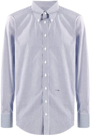 Dsquared2 Herren Lange Ärmel - Pinstripe long-sleeve shirt