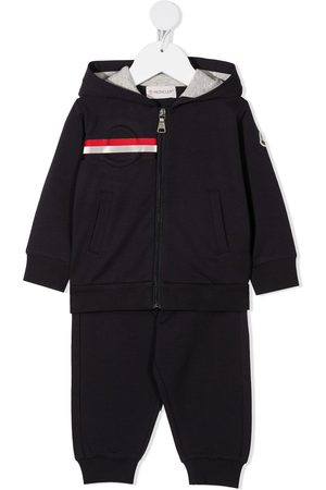 Moncler Anzüge - Logo-patch track suit