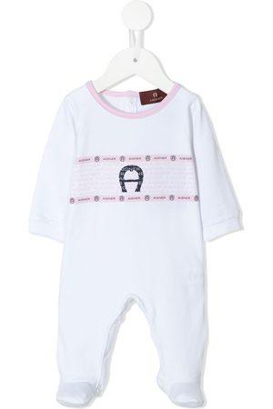 Aigner Kids Anzüge - Logo-print baby grow