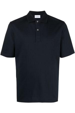 Salvatore Ferragamo Herren Poloshirts - Logo-embroidered polo shirt