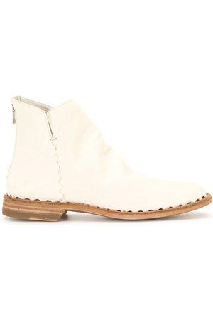 Officine creative Damen Stiefeletten - Graphite leather ankle boots