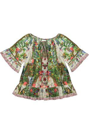 Camilla Bedrucktes Kleid aus Baumwolle