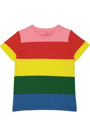 Stella McCartney Gestreiftes T-Shirt aus Baumwolle