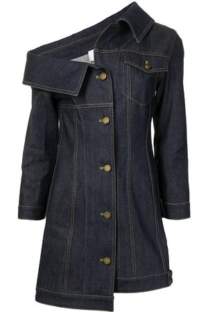 MONSE Damen Jeansjacken - Crooked denim jacket dress