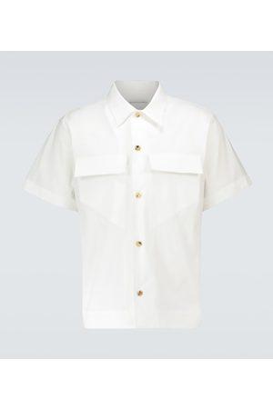 Bottega Veneta Kurzarmhemd aus Baumwolle