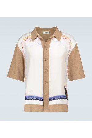 Lanvin Bedrucktes Kurzarmhemd