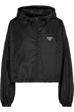 Prada Cropped-Jacke aus Nylon