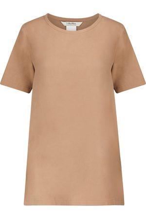 Max Mara T-Shirt Oria aus Seide