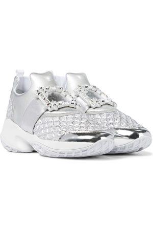 Roger Vivier Sneakers Viv' Run mit Kristallen