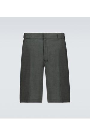 Prada Bermuda-Shorts aus Schurwolle