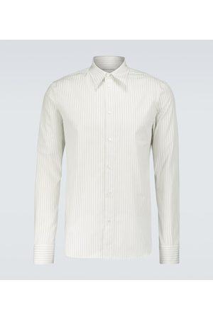 Bottega Veneta Gestreiftes Hemd aus Baumwolle