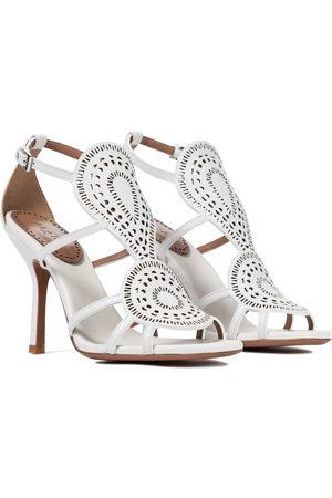Alaïa Sandalen aus Leder