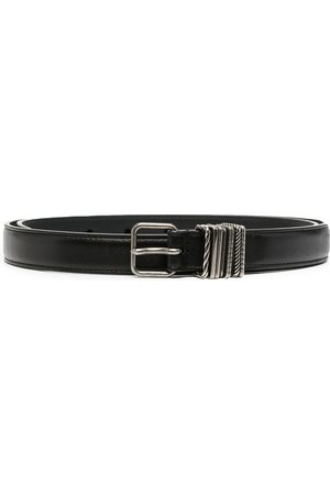 Saint Laurent Herren Gürtel - Leather buckle belt