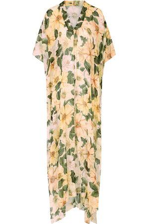 Dolce & Gabbana Floral-print silk maxi dress