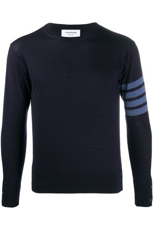 Thom Browne 4-Bar crew neck sweater