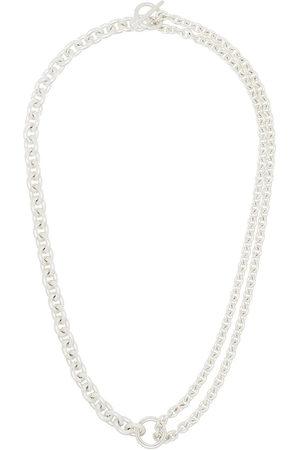 ALL BLUES Herren Halsketten - Sterling chain-link necklace