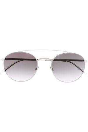 MYKITA Mirrored round-frame sunglasses