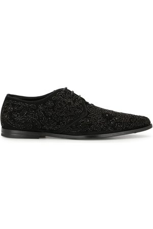 Dolce & Gabbana Embroidered derby shoes