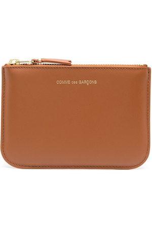 Comme des Garçons Geldbörsen & Etuis - Logo zipped wallet