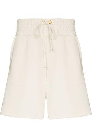 Les Tien Yacht cotton track shorts