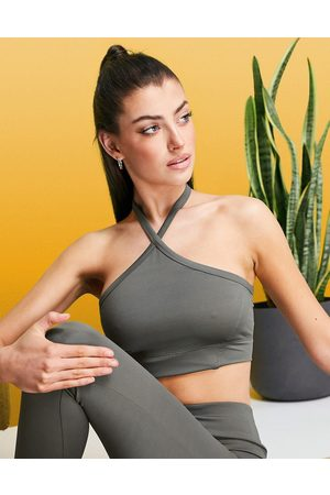 ASOS Halter yoga cami top