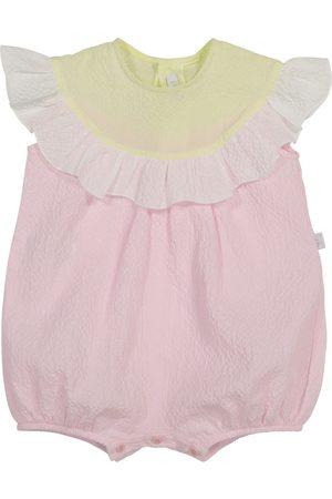 Il gufo Baby Playsuit aus Baumwolle
