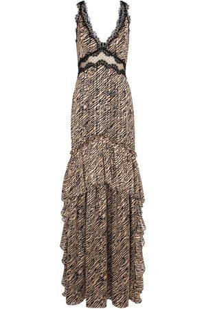 Costarellos Damen Bedruckte Kleider - Bedruckte Robe Farrah aus Chiffon