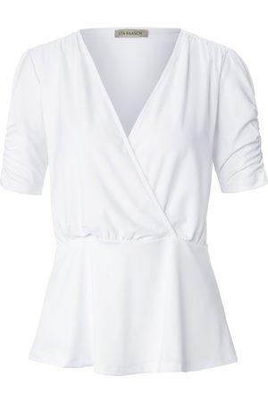 Uta Raasch Damen Shirts - Shirt Schößchen weiss