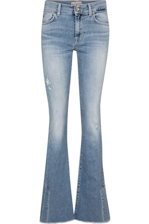 7 for all Mankind Damen High Waisted - Mid-Rise Bootcut Jeans