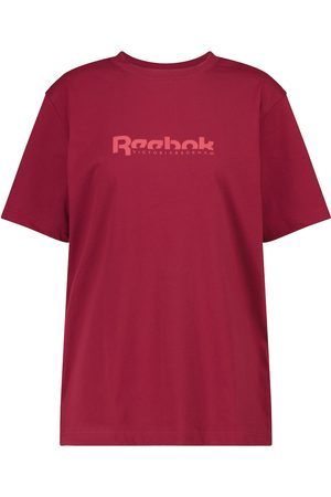 Reebok Bedrucktes T-Shirt aus Baumwolle