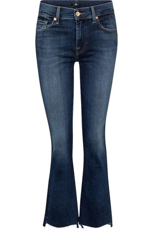 7 for all Mankind Mid-Rise Jeans Ankle Boot Slim Illusion