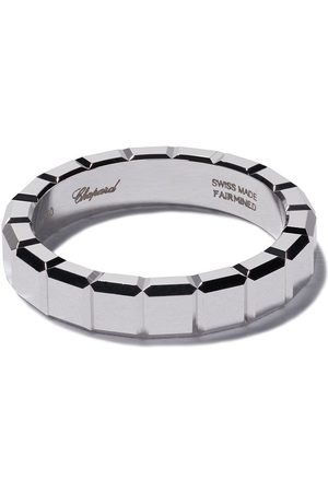 Chopard Damen Ringe - 18kt white gold Ice Cube ring