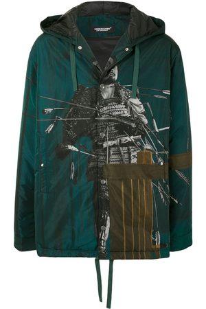 UNDERCOVER Herren Sweatshirts - Photograph-print zipped hoodie