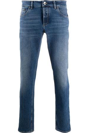 Brunello Cucinelli Herren Slim - Mid-rise slim-fit jeans