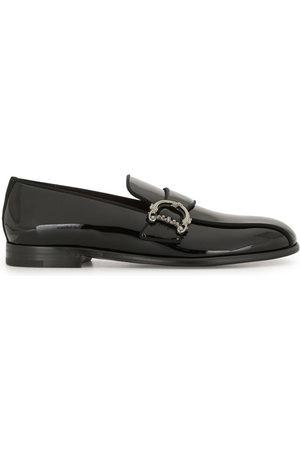 Dolce & Gabbana Herren Halbschuhe - Baroque DG logo loafers