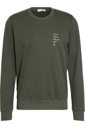 Mey Lounge-Sweatshirt Serie Home Office gruen