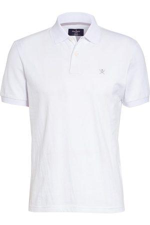 Hackett Piqué-Poloshirt Slim Fit weiss